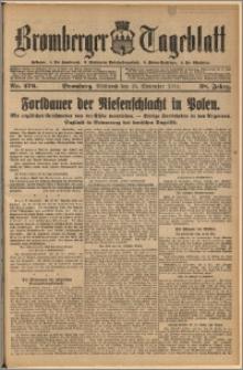 Bromberger Tageblatt. J. 38, 1914, nr 276