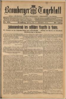 Bromberger Tageblatt. J. 38, 1914, nr 278