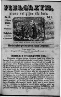 Pielgrzym, pismo religijne dla ludu 1869 rok I nr 10