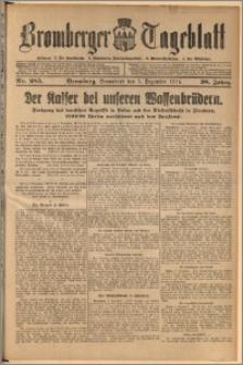 Bromberger Tageblatt. J. 38, 1914, nr 285