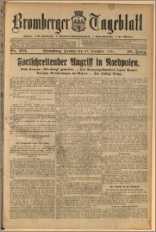 Bromberger Tageblatt. J. 38, 1914, nr 292