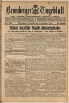 Bromberger Tageblatt. J. 38, 1914, nr 295
