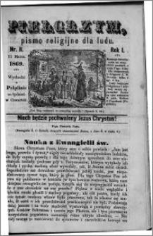 Pielgrzym, pismo religijne dla ludu 1869 rok I nr 11