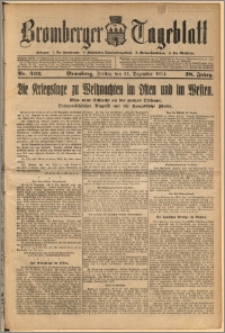 Bromberger Tageblatt. J. 38, 1914, nr 302