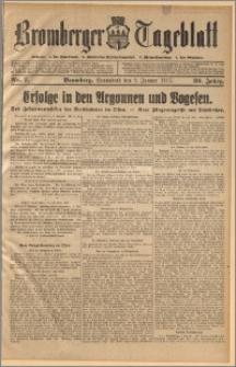 Bromberger Tageblatt. J. 39, 1915, nr 7
