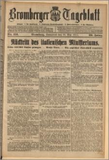 Bromberger Tageblatt. J. 39, 1915, nr 112