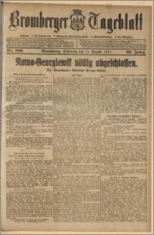 Bromberger Tageblatt. J. 39, 1915, nr 186