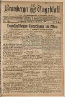 Bromberger Tageblatt. J. 39, 1915, nr 188