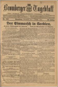 Bromberger Tageblatt. J. 39, 1915, nr 237