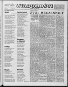Wiadomości, R. 14 nr 28 (693), 1959