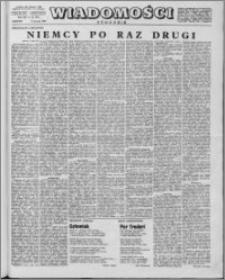 Wiadomości, R. 14 nr 32 (697), 1959