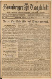 Bromberger Tageblatt. J. 40, 1916, nr 55