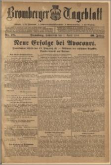 Bromberger Tageblatt. J. 40, 1916, nr 78