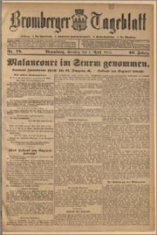 Bromberger Tageblatt. J. 40, 1916, nr 79