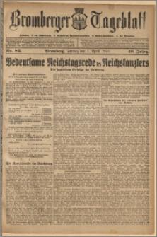 Bromberger Tageblatt. J. 40, 1916, nr 83