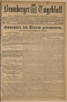 Bromberger Tageblatt. J. 40, 1916, nr 84