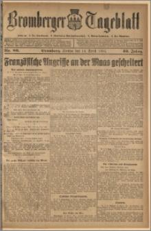 Bromberger Tageblatt. J. 40, 1916, nr 89
