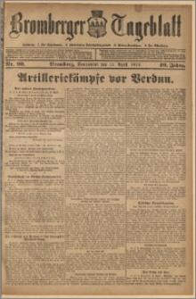 Bromberger Tageblatt. J. 40, 1916, nr 90