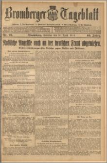 Bromberger Tageblatt. J. 40, 1916, nr 91