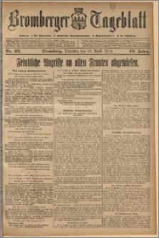 Bromberger Tageblatt. J. 40, 1916, nr 92