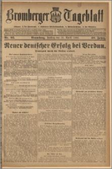 Bromberger Tageblatt. J. 40, 1916, nr 95