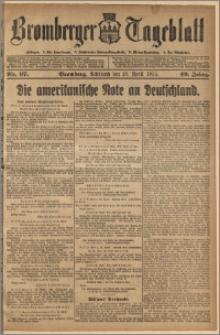 Bromberger Tageblatt. J. 40, 1916, nr 97