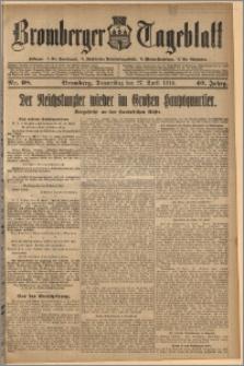 Bromberger Tageblatt. J. 40, 1916, nr 98