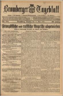 Bromberger Tageblatt. J. 40, 1916, nr 114