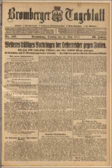 Bromberger Tageblatt. J. 40, 1916, nr 119