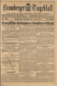 Bromberger Tageblatt. J. 40, 1916, nr 128
