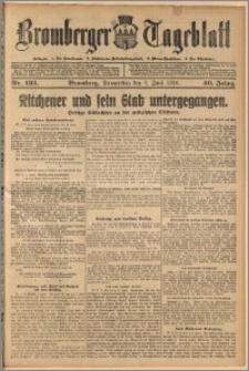 Bromberger Tageblatt. J. 40, 1916, nr 133