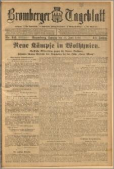 Bromberger Tageblatt. J. 40, 1916, nr 141