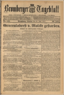 Bromberger Tageblatt. J. 40, 1916, nr 142