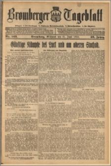 Bromberger Tageblatt. J. 40, 1916, nr 143