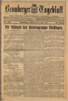 Bromberger Tageblatt. J. 40, 1916, nr 145