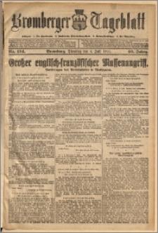 Bromberger Tageblatt. J. 40, 1916, nr 154