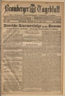 Bromberger Tageblatt. J. 40, 1916, nr 161