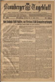 Bromberger Tageblatt. J. 40, 1916, nr 163
