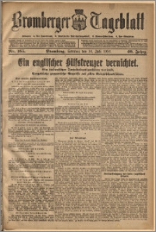 Bromberger Tageblatt. J. 40, 1916, nr 165
