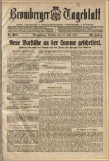 Bromberger Tageblatt. J. 40, 1916, nr 177