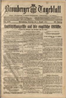 Bromberger Tageblatt. J. 40, 1916, nr 178