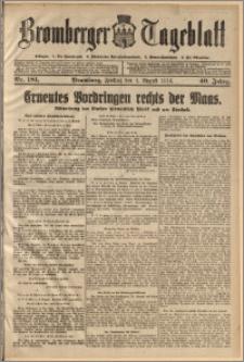 Bromberger Tageblatt. J. 40, 1916, nr 181