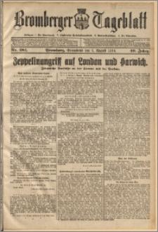 Bromberger Tageblatt. J. 40, 1916, nr 182