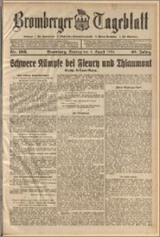 Bromberger Tageblatt. J. 40, 1916, nr 183