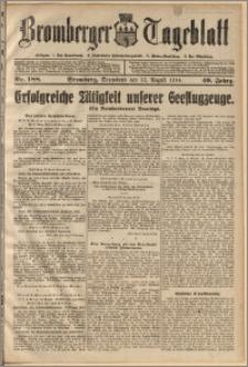 Bromberger Tageblatt. J. 40, 1916, nr 188