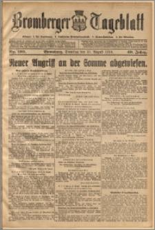 Bromberger Tageblatt. J. 40, 1916, nr 190