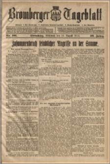 Bromberger Tageblatt. J. 40, 1916, nr 191
