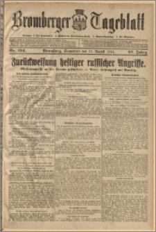 Bromberger Tageblatt. J. 40, 1916, nr 194