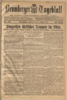 Bromberger Tageblatt. J. 40, 1916, nr 195