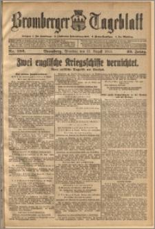 Bromberger Tageblatt. J. 40, 1916, nr 196